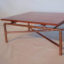 Copper Pipe Coffee Table