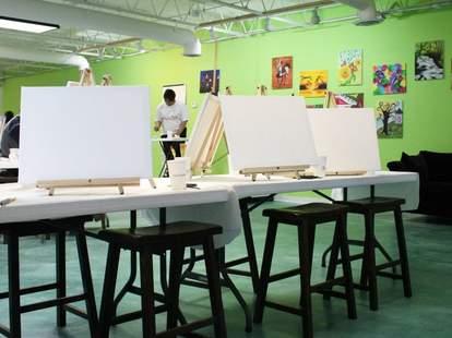 Dip 'n Dab art studio - atlanta