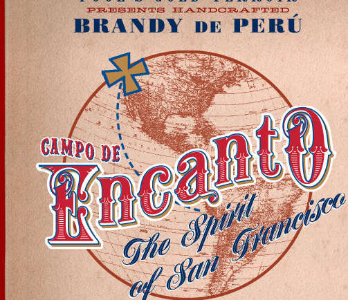 Artisanal grape brandy from Peru to you