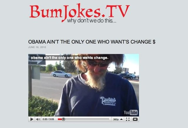 Jokes by bums, for you