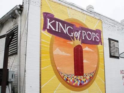 Exterior of King of Pops in Atlanta