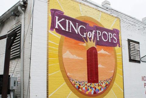 Exterior of King of Pops in Atlanta