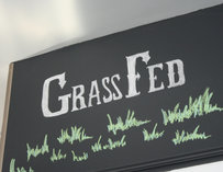Grass Fed Sign--Boston