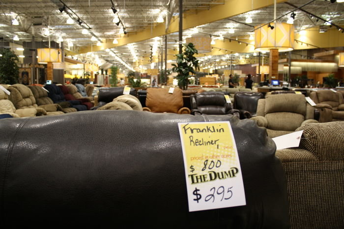 The dump a weekend only furniture outlet thrillist atlanta