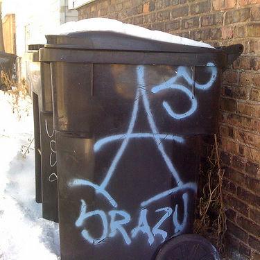 Chicago Gang Graffiti