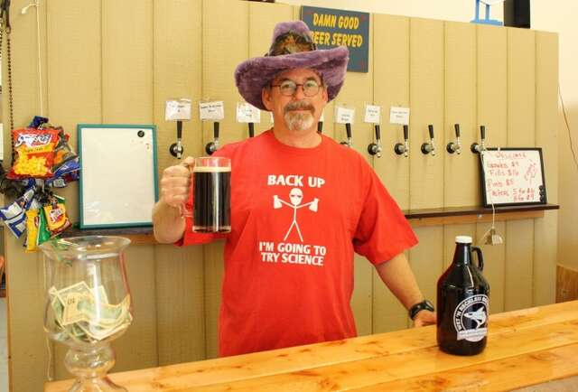 A biologist drops science on beers