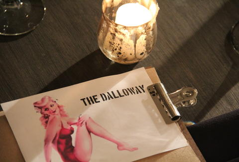 The Dalloway postcard