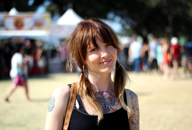 Photos of the 2012 Fest\'s inkiest babes