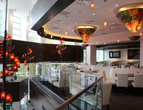 Upper level of Mi Cocina