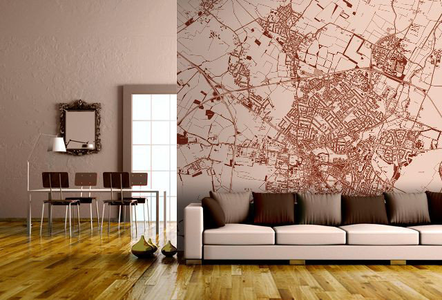 Custom cartography for your crib