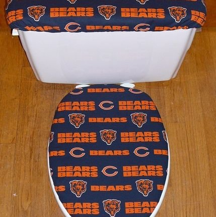 Superb Chicago Bears Toilet Seat Cover Entertainment Thrillist Ocoug Best Dining Table And Chair Ideas Images Ocougorg