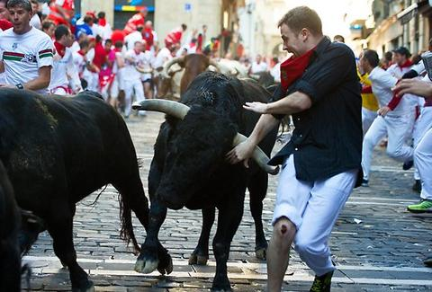 Milf takes on 2 bulls