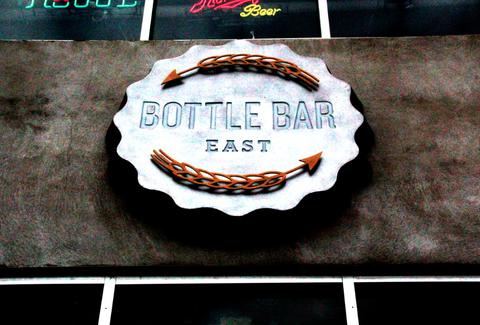 Bottle Bar East Sign--Philadelphia