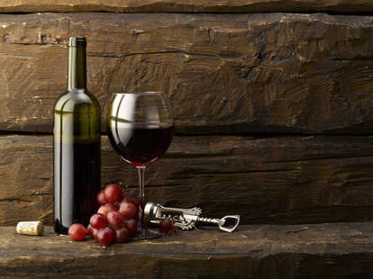 Wine at Steel Restaurant & Lounge in Atlanta