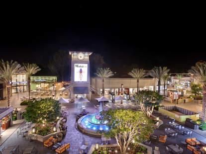 Westville UTC open-air shopping mall in La Jolla