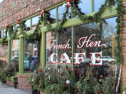 The French Hen Cafe Exterior