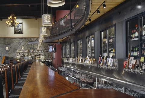 Interior of Brouwer's in Seattle