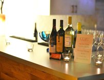 Wine at Coze event space in Atlanta