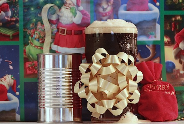 Holiday beers set to a holiday soundtrack