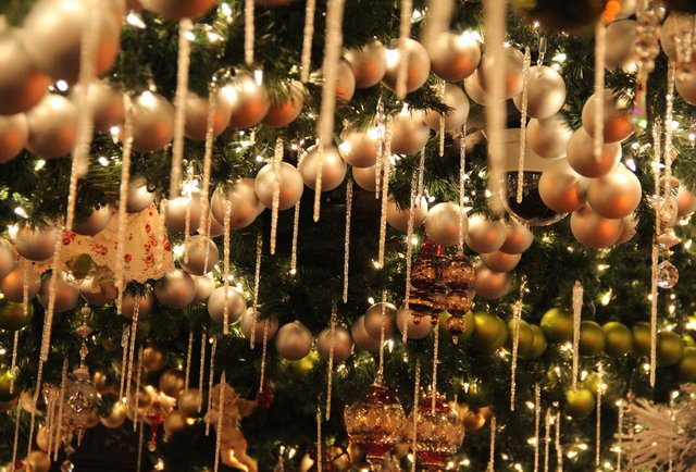A tour of Rolf\'s Christmas lights... and schnapps
