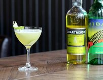 Famous Last Words: mezcal, yellow chartreuse, maraschino & agave nectar l