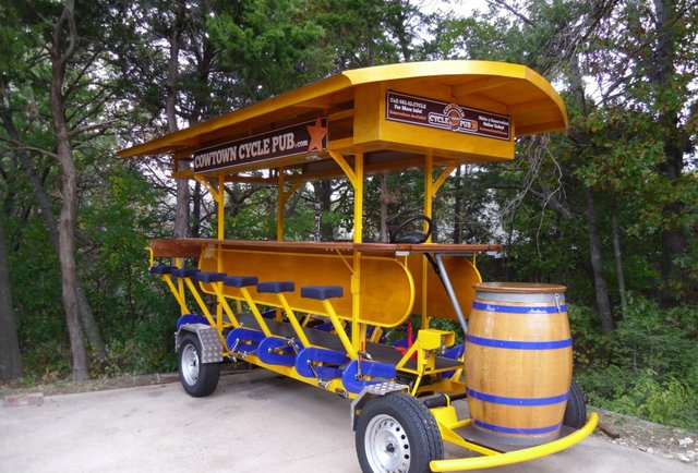 The (pedal) power of beer compels you