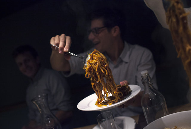 All-you-can-eat food and wine for $30pp