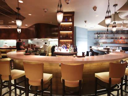Bar inside Rumi's Kitchen