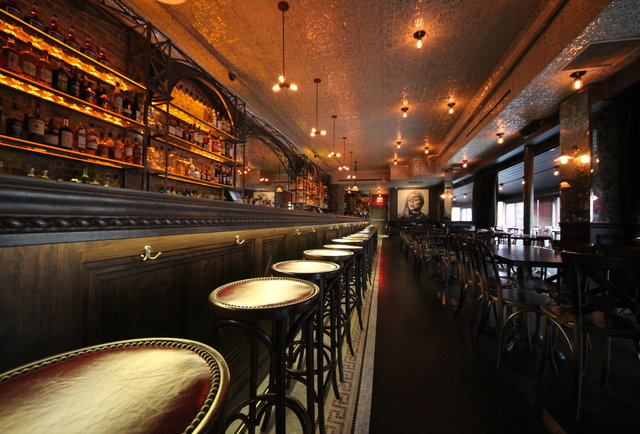 A sexy bistro on the Upper West Side