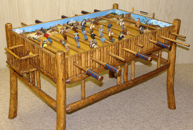 The coolest foosball table in history