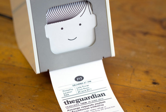 Create a personalized mini newspaper in your own home