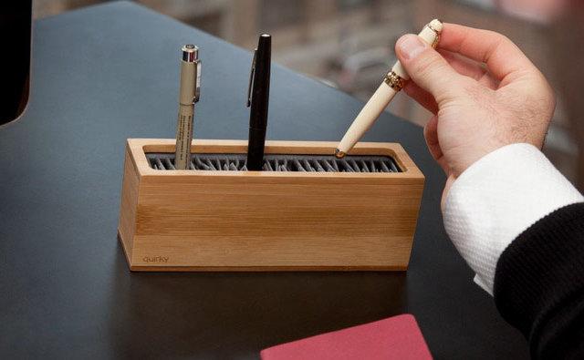 A versatile storage box for your desk