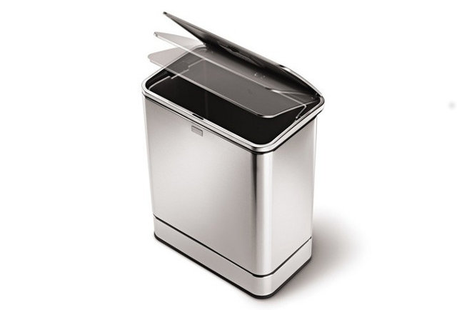 The no-touch motion sensor trash can