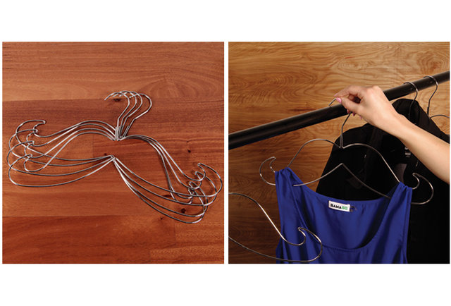 Hangers to \'stache your clothes