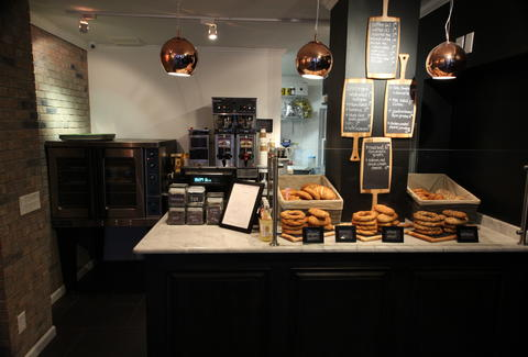 The counter at Simit + Smith