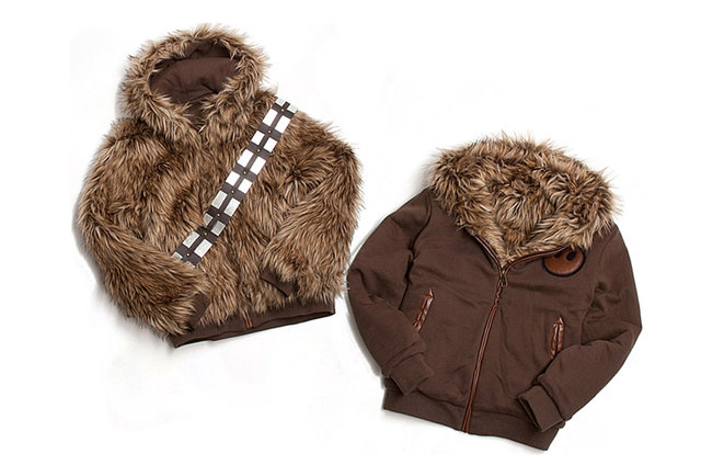 Get your Wookie on in this furry Star Wars-inspired jacket