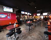 Interior of Tailgaters Sports Bar in Seattle