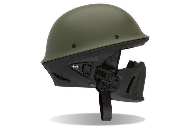 Take on traffic with battle-ready headgear