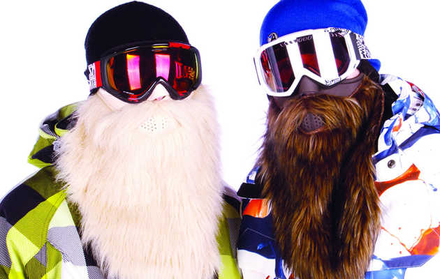 Be the pirate, viking, or biker of the ski slope