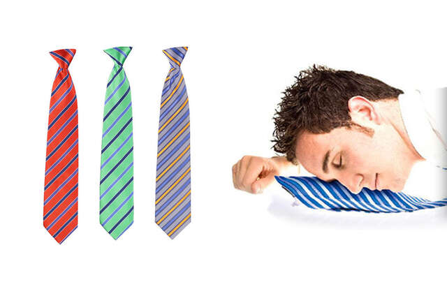 A necktie that\'s bringing naptime back into fashion