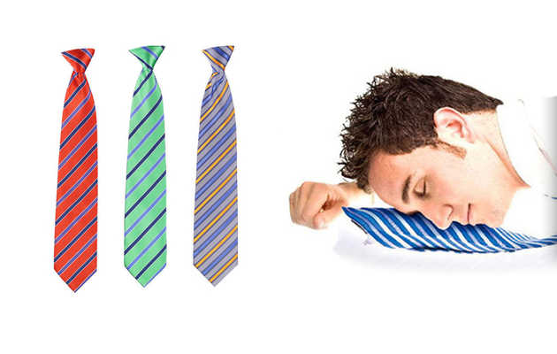 A necktie that's bringing naptime back into fashion