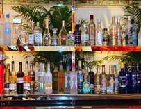 The bar at VDKA in Las Vegas