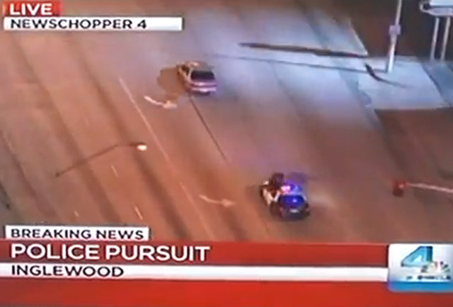 Is this crazy police chase video real or fake?