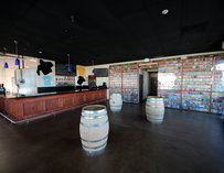 Interior of Rip Current Brewing in San Diego