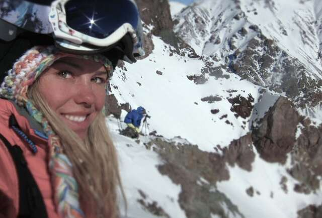 This girl wants to take you skiing in Alaska