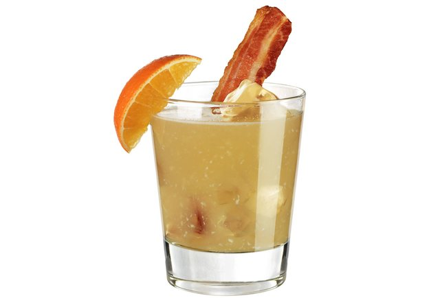Bacon, maple syrup, and whiskey together at last