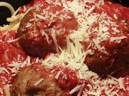 24th & Meatballs Dish