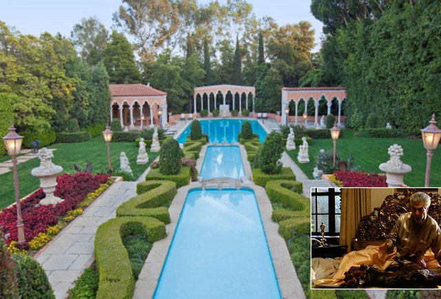 Famous action, horror, drama, and adult film homes on the market right now