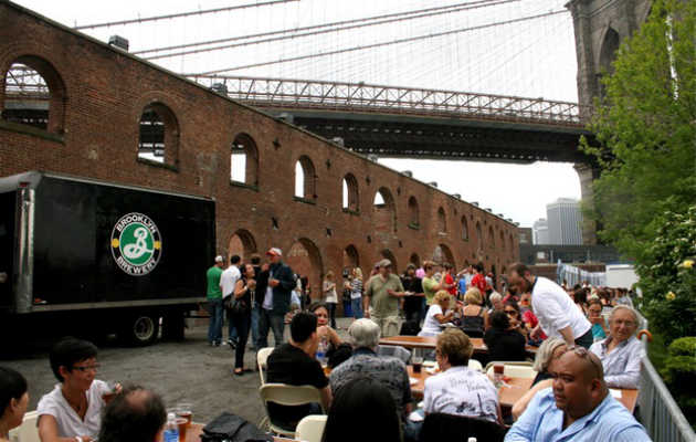 Drink at the Big Apple's most famous brewery