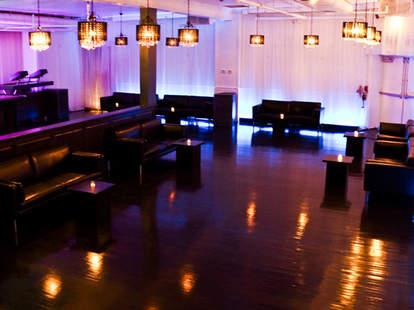 The nightclub interior